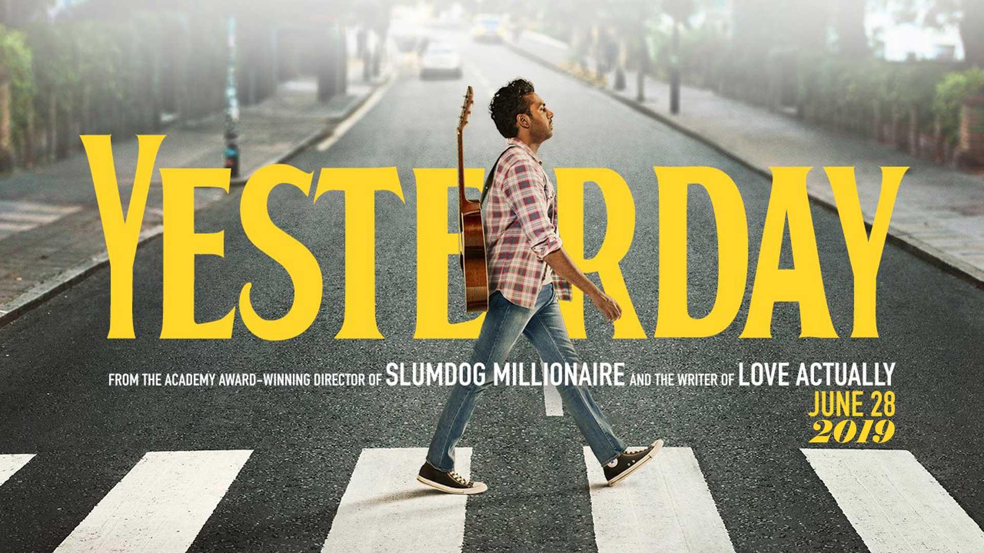 Locandina articolo Yesterday, il nuovo film di Danny Boyle! - Ciclope film