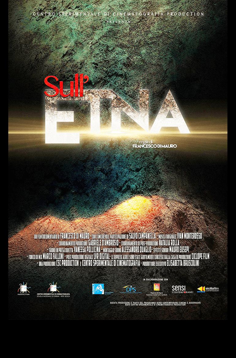 Poster Sull'Etna