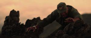 Fotogramma del documentario Sull'Etna con Salvo Campanella