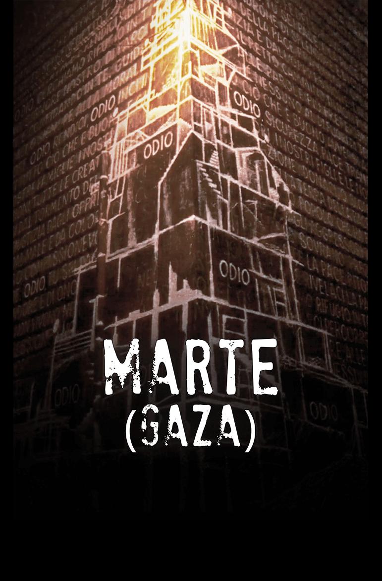 Locandina del documentario - Marte (GAZA) - Ciclope film