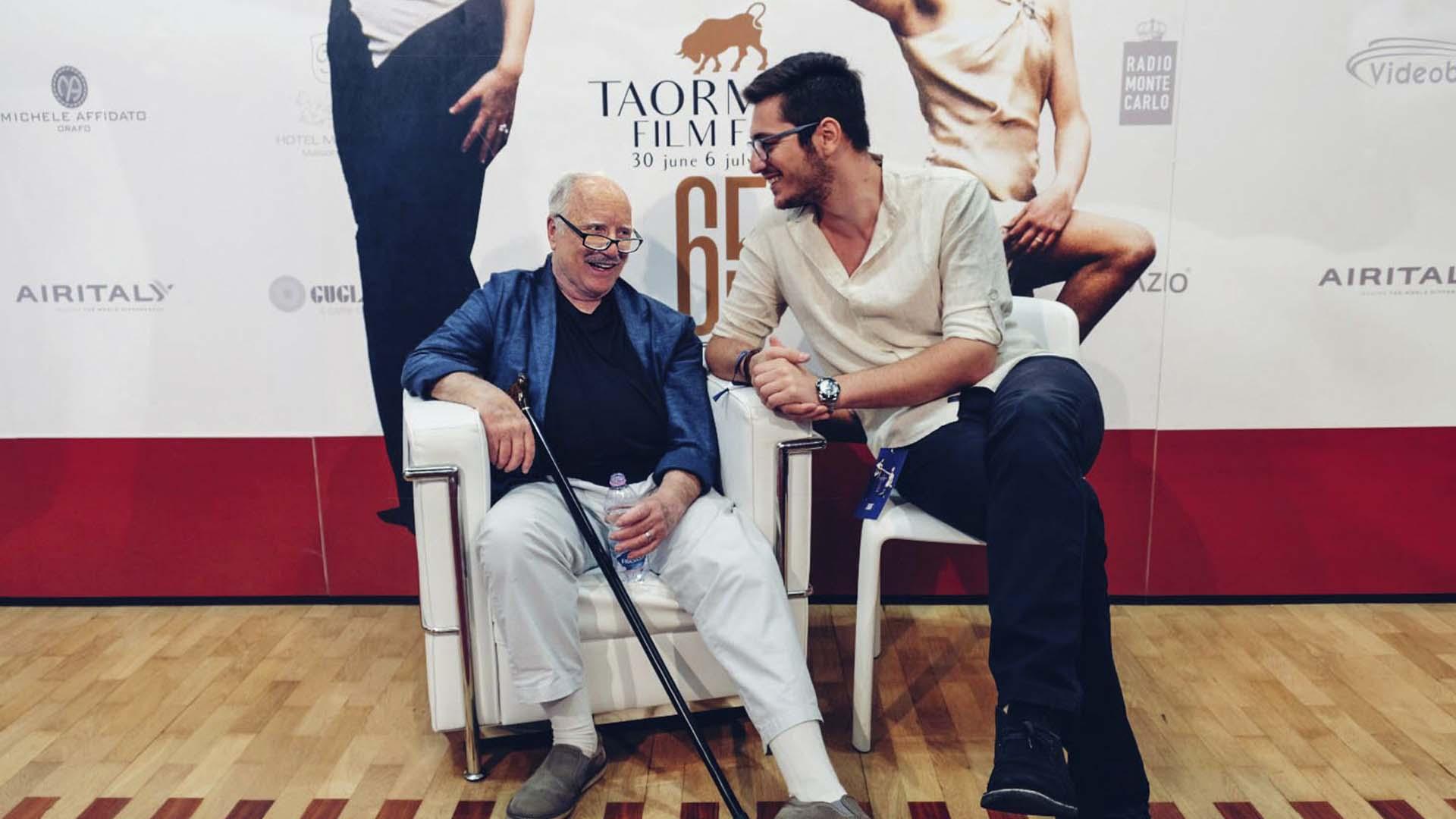 Richard Dreyfuss e Francesco Di Mauro alla 65° Edizione del Taormina Film Festival -