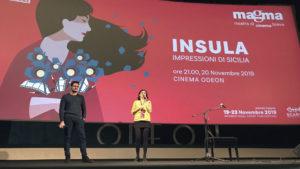 Francesco Di Mauro al Magma film festival - Ciclope film